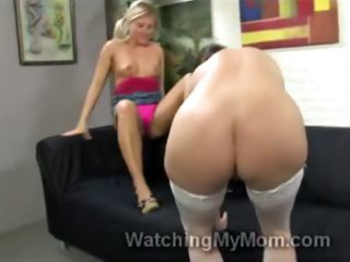 blondie casey cumz helps mama to take hunky