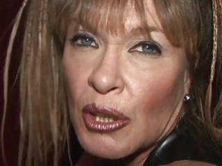 red-light mamma porsche is a naughty strap-on