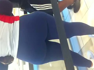 fat ass in spandex 11