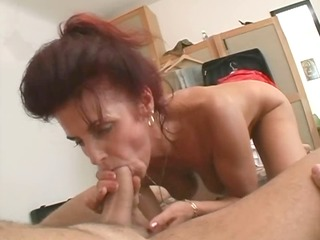 mature german landlady fucks juvenile tenant -
