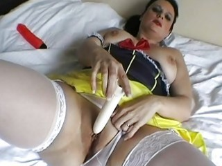 chic english d like to fuck toys her used soaked