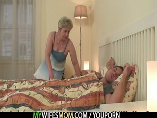she is copulates her son in law as he is sleeps