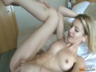 claudia shotz receives cum on her cunt
