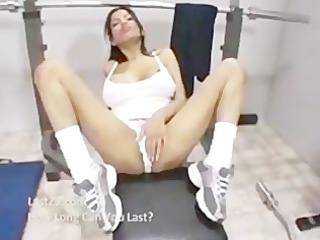 hawt workout with alexis amore