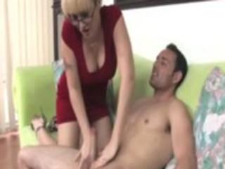 spex aged giving a handjob