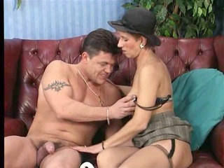 aged german lady getting her ass drilled hard