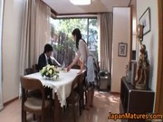 sexually excited japanese older babes engulfing