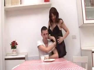 hot italian mom and son