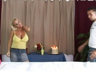 hot breasty blonde mother i getting a great
