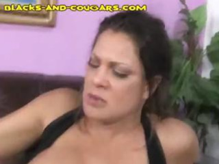 mature angel with large titties gets her face
