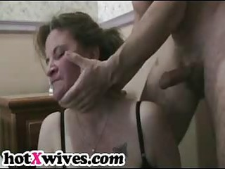 lewd ex wife gets coarse mouth fuck