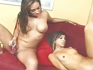 sexy mom and slender daughter need a cock