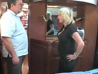 mature british golden-haired fucking om a boat