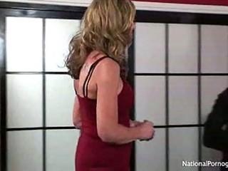 hot tall breasty aged cougar liz