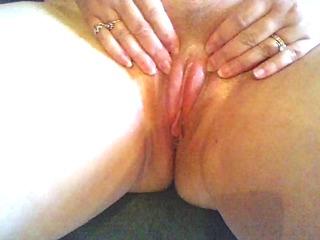 quickie of cum on my wet crack