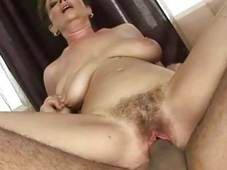 granny acquires her shaggy snatch fucked