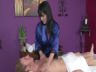 older masseuses do it is better during their