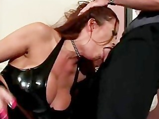bitch clothed in latex