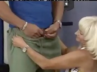 avid old mommy acquires drilled hard in her