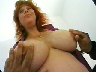preggy mama with huge titties in trio