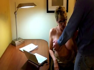 she is pays the bills then gives a oral-job