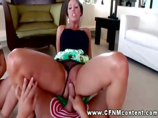 cfnm babe grinding vagina on cock and cant