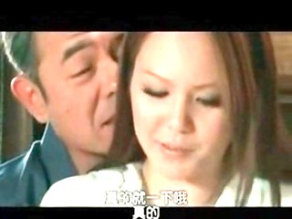 breasty japanese milf drilled hard by old guy 26