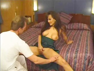breasty brunette hair copulates on a cruise ship
