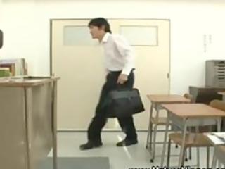 milf aged oriental spoils student