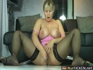 hot german mother i masturbates and squirts like