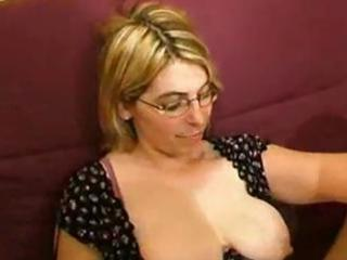 older amateur with large butt fisted