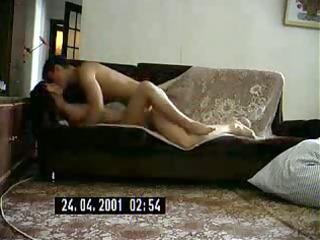 sexy russian milf bonks a guy
