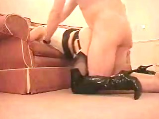 mother i in leather fucked from behind.