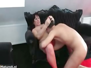 horny aged bitch goes crazy part5