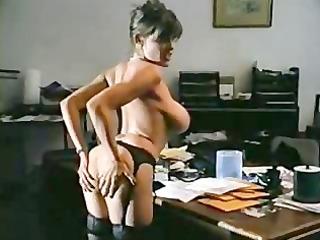 fucked on office table