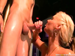 super hawt naked blonde honey in the club