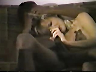juvenile blond white wife with darksome paramour