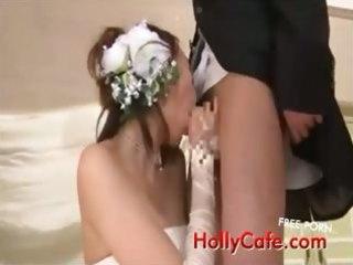 aged brides drinking cum funny