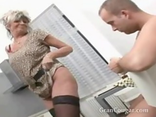 sexy old granny wishes him now and wont stop til