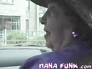 nana funk giving hawt interview inside the car