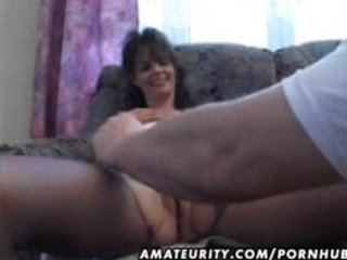 older amateur wife homemade fucking with spunk
