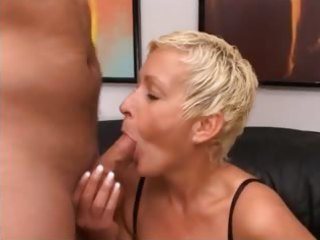 golden-haired mature having snatch fisted hard
