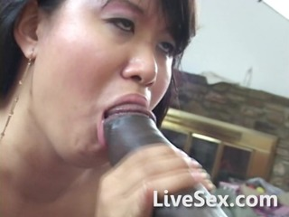 oriental mommy and large black jock