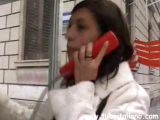 juvenile italian brunette hair wife calls to meet