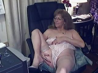pleasant granny with glasses 9