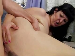 breasty chunky grandma fucking with youthful lad