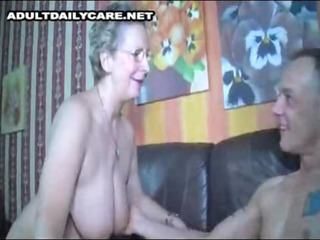 german mama getting fucked by young lad