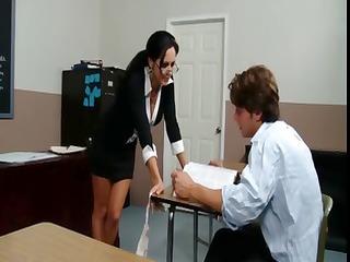 slutty teacher ava adams gives her favourable