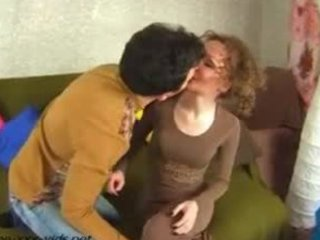 sexy aged mother tempt a juvenile boy and