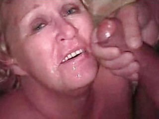 granny golden-haired bukkake